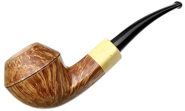 Jacono Rook Bent Bulldog with Boxwood (E)
