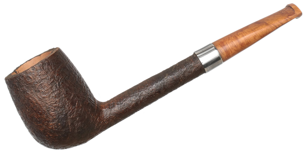 Genod Sandblasted Canadian with Briar Stem