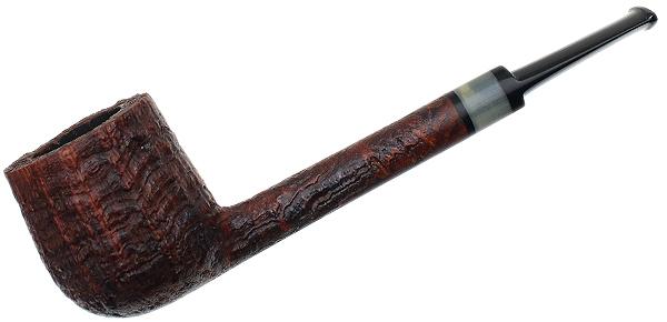 Michail Kyriazanos Sandblasted Pencil Shank Pot with Horn