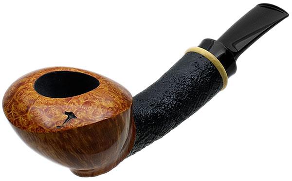 Yeti Partially Sandblasted Bent Dublin with Boxwood (352)