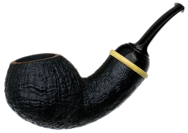 Yeti Sandblasted Bent Apple with Boxwood (348)