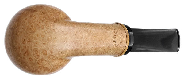 Davide Iafisco Smooth Bent Brandy with Olivewood