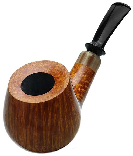 Davide Iafisco Smooth Bent Cauldron with Horn