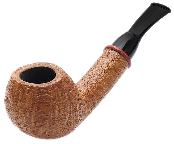 Bill Shalosky Sandblasted Sparrow with Pink Ivory (378)