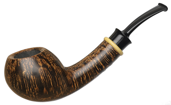 Bill Shalosky Smooth Bent Apple with Boxwood (410)
