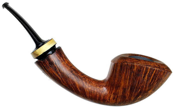 Jared Coles Smooth Bent Dublin with Orange (1712)