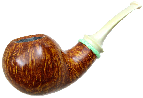 Sam Adebayo Smooth Bent Apple with Bakelite and Juma