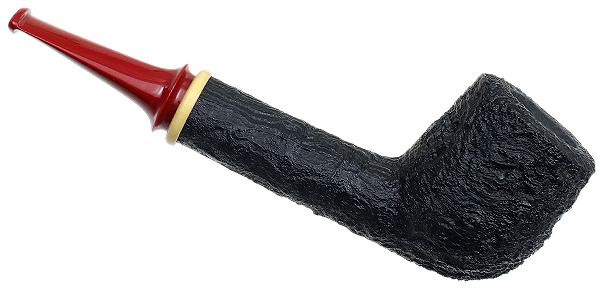 Sam Adebayo Sandblasted Canted Billiard with Boxwood and Bakelite