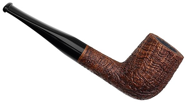 Vermont Freehand Brown Sandblasted Strawberry Wood Billiard
