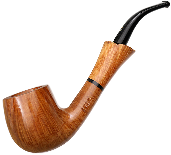 Savinelli Autograph Mister A Autograph Smooth Bent Billiard