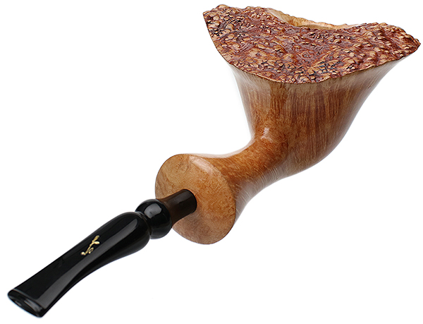 Savinelli Autograph Autograph Smooth Natural Bent Dublin (Extraordinaire) (6mm) (with Box)