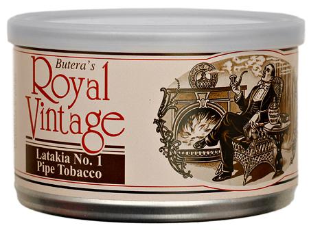 Butera Royal Vintage: Latakia #1 50g