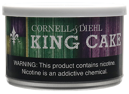 Cornell & Diehl King Cake 2oz