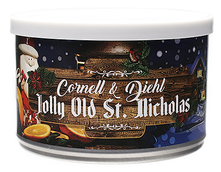 Cornell & Diehl Jolly Old Saint Nicholas 2oz
