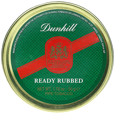 Dunhill Ready Rubbed 50g