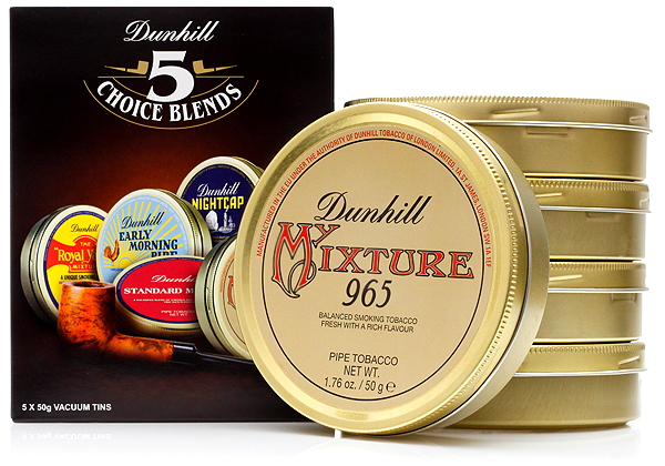 5 Choice Blends  sc 1 st  Smoking Pipes & Dunhill 5 Choice Blends | Buy Dunhill Pipe Tobacco at Smokingpipes