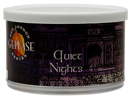 G.L. Pease Quiet Nights Pipe Tobacco