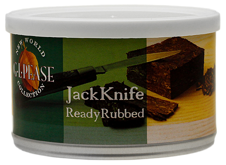 G. L. Pease JackKnife Ready Rubbed 2oz