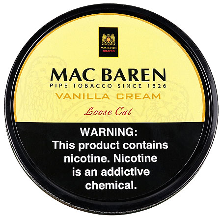 Mac Baren Vanilla Cream 3.5oz