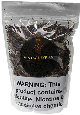 Mac Baren HH Vintage Syrian 16oz with Black Ceramic Limited Edition Tobacco Jar
