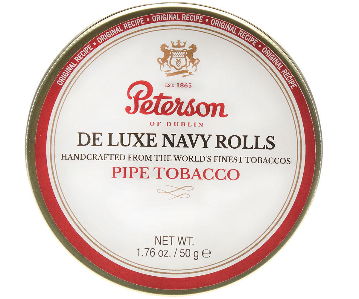 Peterson De Luxe Navy Rolls 50g