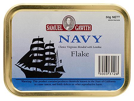 Samuel Gawith Navy Flake 50g