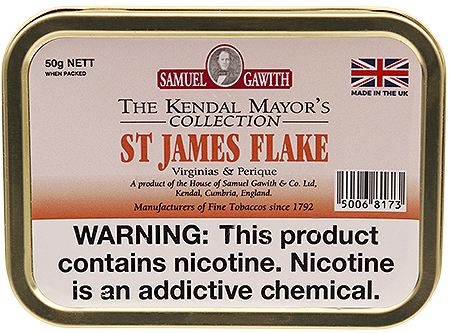 Samuel Gawith St. James Flake 50g