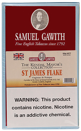 Samuel Gawith St. James Flake 250g
