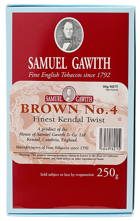Samuel Gawith Brown No. 4 250g