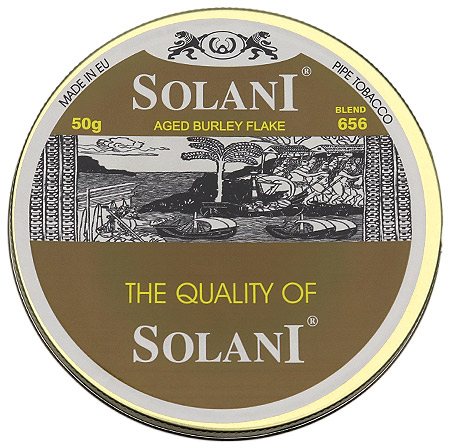 Solani Aged Burley Flake - 656 50g