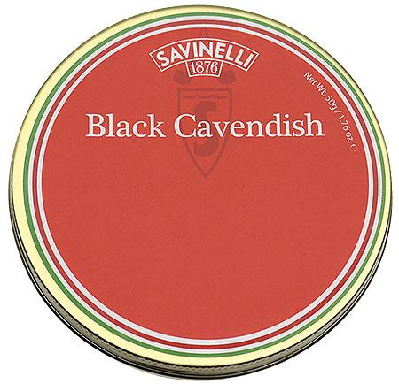 Savinelli Black Cavendish 50g