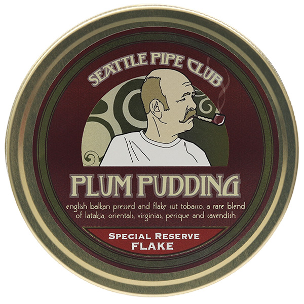 Seattle Pipe Club Plum Pudding Special Reserve Flake 2oz
