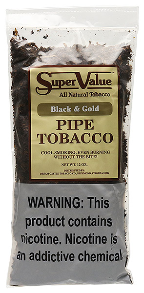 Super Value Black & Gold 12oz