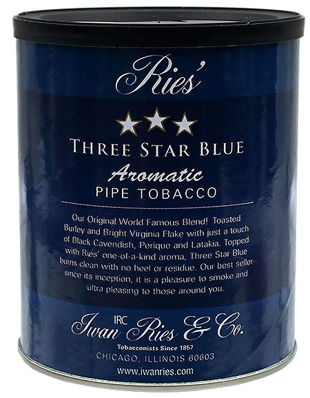 Iwan Ries Three Star Blue 7oz