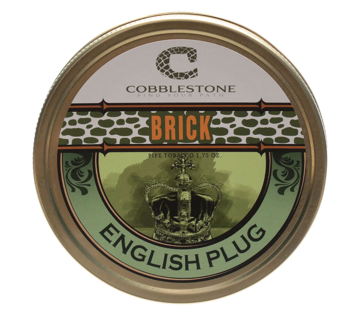 Cobblestone Brick English Plug 1.75oz