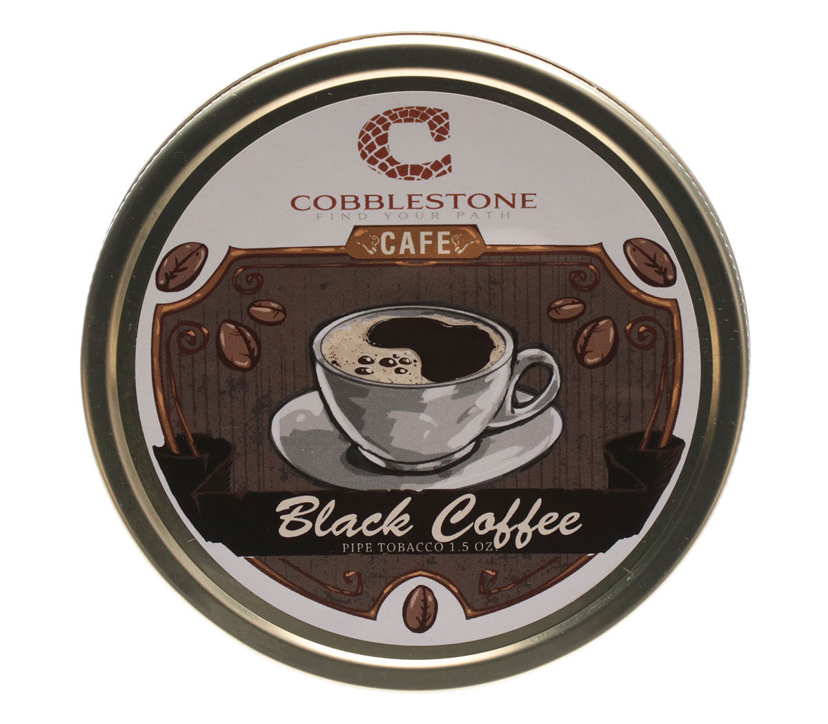 Cobblestone Cafe Black Coffee 1.75oz
