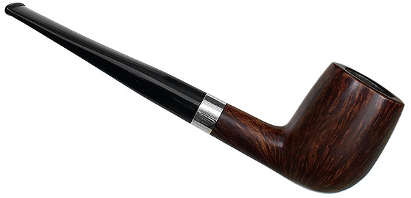 Danish Estate Stanwell Smooth Billiard with Silver (51) (pre-2010)