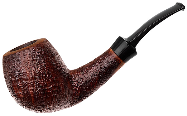 Danish Estate Peter Klein Sandblasted Bent Brandy (D) (9mm)