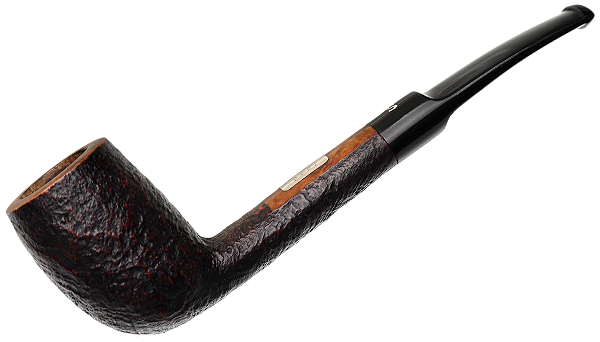 Danish Estate Stanwell Sandblasted Bent Billiard (1990)