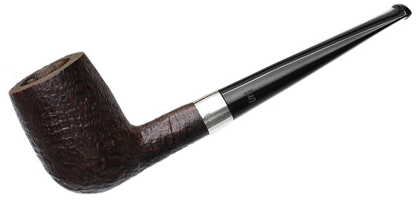 Stanwell Sandblasted Billiard with Silver (1970s-1990s)