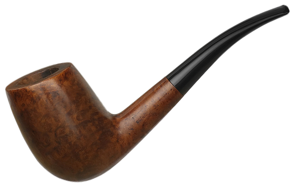Danish Estate Pipe-Dan Smooth Bent Billiard