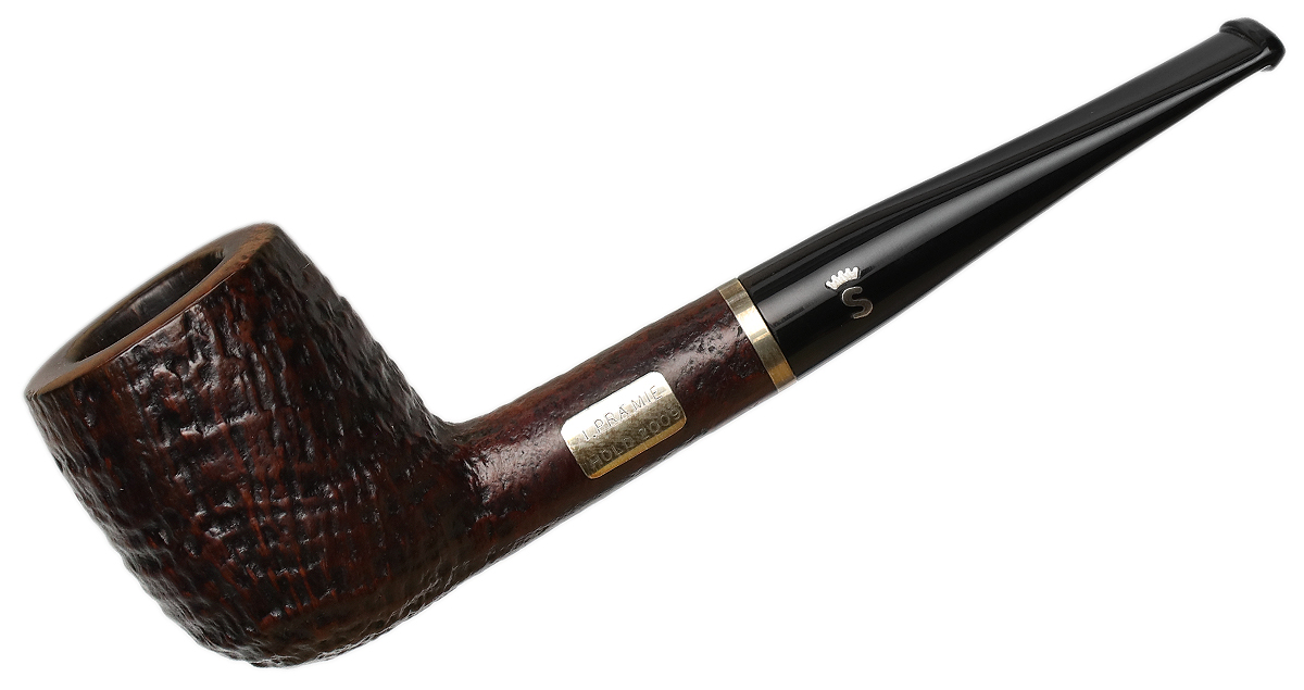 Danish Estate Stanwell Sandblasted Billiard with Silver (I. Pramie) (2009)