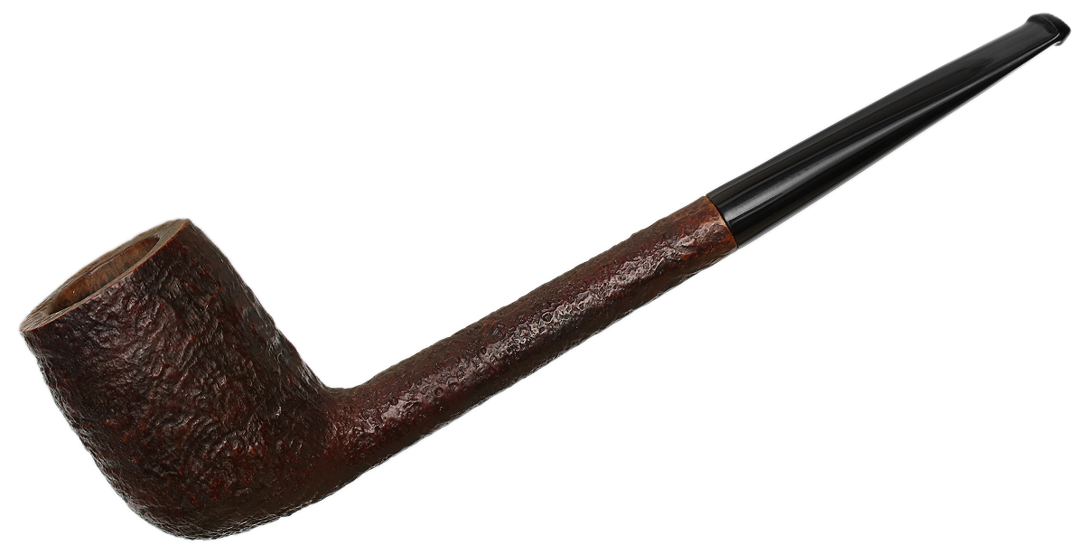 Danish Estate Stanwell Sandblasted (84R) (Regd. No.) (1948-1960s) (Replacement Stem)