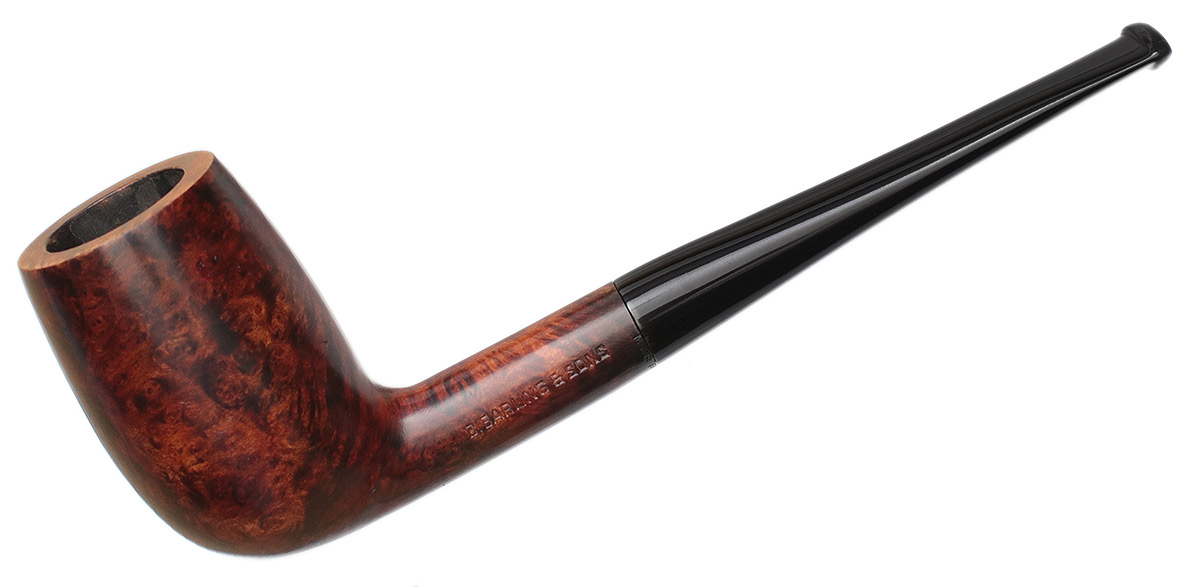 Danish Estate B. Barling & Sons Smooth Billiard (T.V.F.) (4155) (1970s)