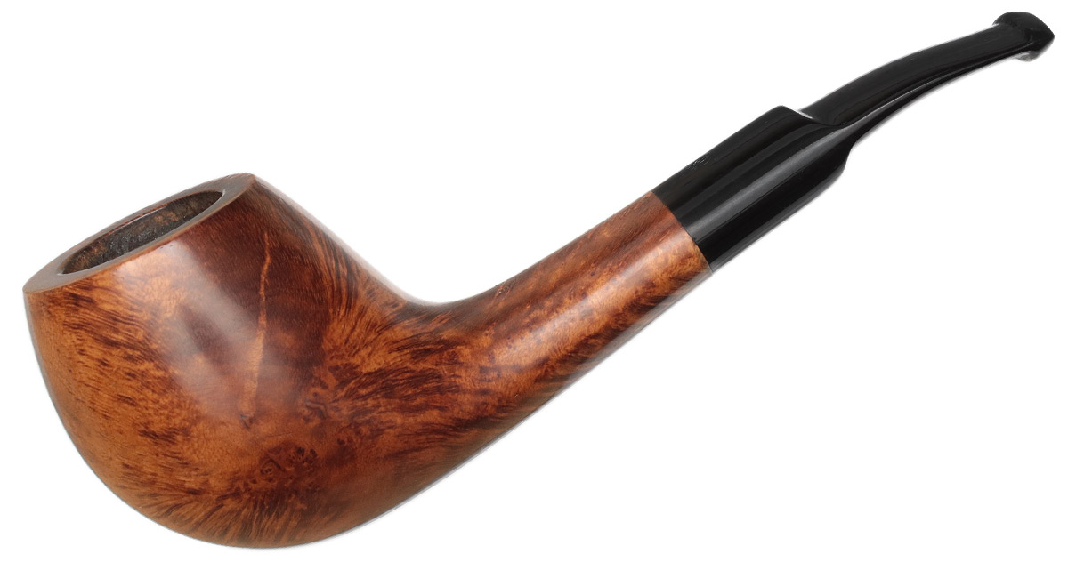 Danish Estate Georg Jensen Goodwill Smooth Bent Apple (29)