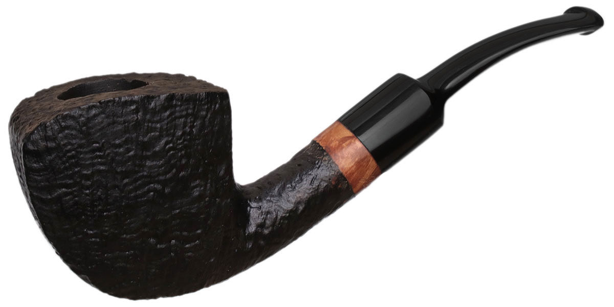Danish Estate Johs Sandblasted Bent Panel (Unsmoked)