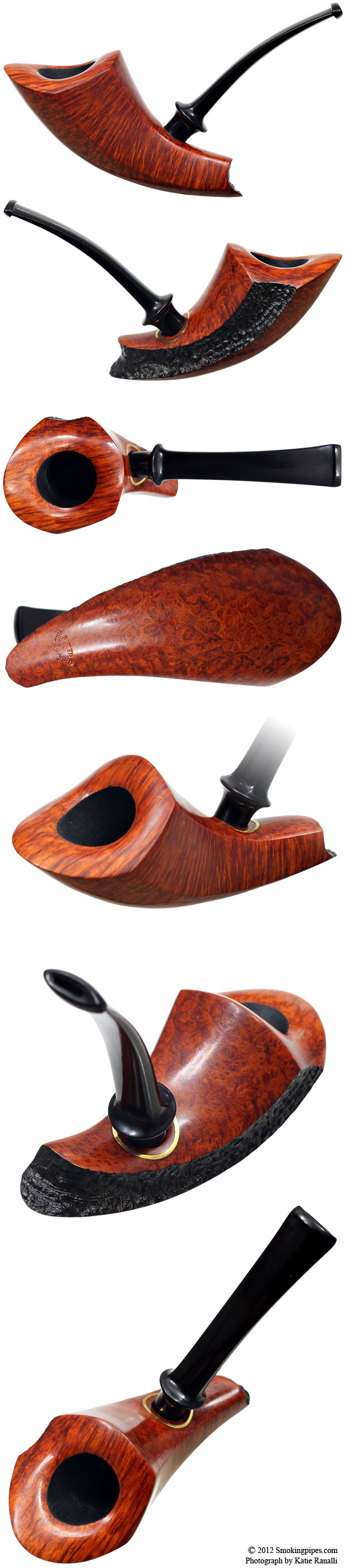 Peter Hedegaard Partially Sandblasted Elephant's Foot (B) (Unsmoked)