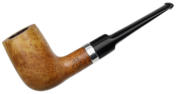 English Estate Dunhill Root Briar with Silver (4212) (2008) (Unsmoked)