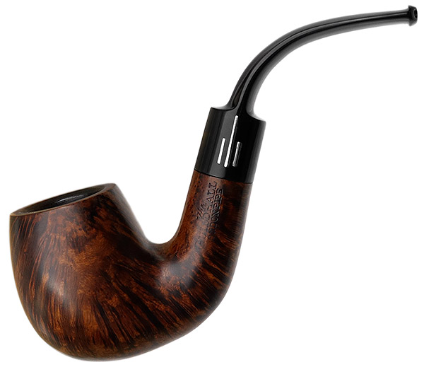 The Guildhall Smooth Bent Billiard (215) (by Comoy's) (Twin Bore)