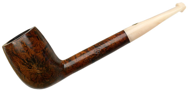 English Estate BBB Silver Grain Billiard (709)